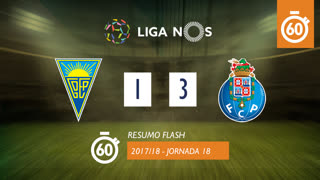Liga NOS (18ªJ): Resumo Flash Estoril Praia 1-3 FC Porto