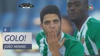 GOLO! Rio Ave FC, João Novais aos 6', GD Chaves 0-1 Rio Ave FC