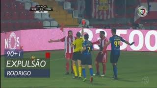 CD Aves, Expulsão, Rodrigo Alves aos 90'+1'