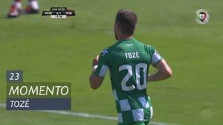 Moreirense FC, Jogada, Tozé aos 23'