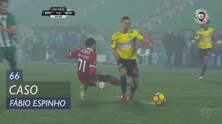 Boavista FC, Caso, Fábio Espinho aos 66'