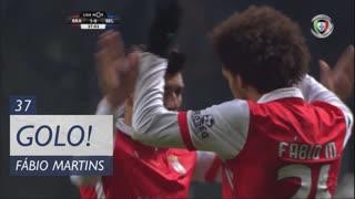 GOLO! SC Braga, Fábio Martins aos 37', SC Braga 1-0 Os Belenenses