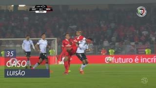 SL Benfica, Caso, Luisão aos 35'