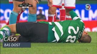 Sporting CP, Caso, Bas Dost aos 78'
