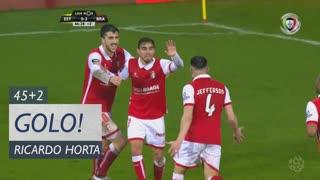 GOLO! SC Braga, Ricardo Horta aos 45'+2', Estoril Praia 0-3 SC Braga
