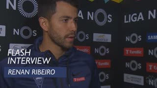 Liga (18ª): Flash interview Renan Ribeiro