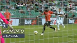 Moreirense FC, Jogada, E. Boateng aos 31'
