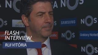 Liga (22ª): Flash interview Rui Vitória