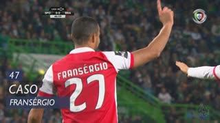 SC Braga, Caso, Fransérgio aos 47'