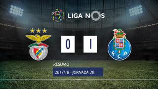 Liga NOS (30ªJ): Resumo SL Benfica 0-1 FC Porto