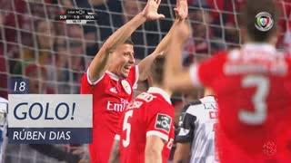 GOLO! SL Benfica, Rúben Dias aos 18', SL Benfica 1-0 Boavista FC
