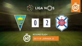 Liga NOS (23ªJ): Resumo Flash Estoril Praia 0-2 Os Belenenses