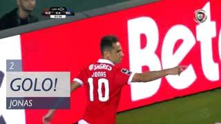 GOLO! SL Benfica, Jonas aos 2', SL Benfica 1-0 Belenenses SAD