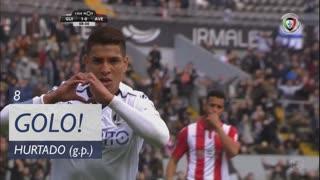 GOLO! Vitória SC, Hurtado aos 8', Vitória SC 1-0 CD Aves