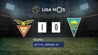 Liga NOS (32ªJ): Resumo CD Aves 1-0 Estoril Praia
