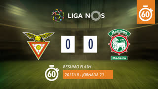 I Liga (23ªJ): Resumo Flash CD Aves 0-0 Marítimo M.