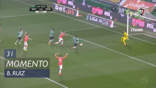 Sporting CP, Jogada, B. Ruiz aos 31'