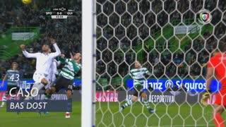 Sporting CP, Caso, Bas Dost aos 43'