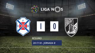 Liga NOS (8ªJ): Resumo Os Belenenses 1-0 Vitória SC