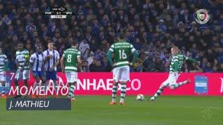 Sporting CP, Jogada, J. Mathieu aos 74'