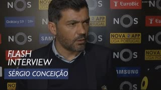 Liga (28ª): Flash interview Sérgio Conceição
