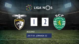 Liga NOS (32ªJ): Resumo Portimonense 1-2 Sporting CP