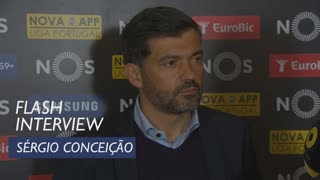 Liga (31ª): Flash interview Sérgio Conceição