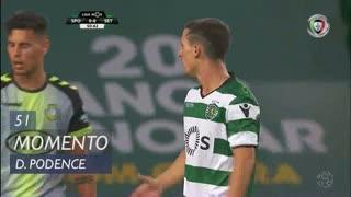 Sporting CP, Jogada, Daniel Podence aos 51'