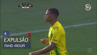 CD Tondela, Expulsão, F. Moufi aos 4'