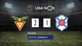 Liga NOS (5ªJ): Resumo CD Aves 2-1 Belenenses