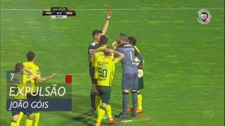FC P.Ferreira, Expulsão, João Góis aos 7'