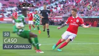 SL Benfica, Caso, Álex Grimaldo aos 50'
