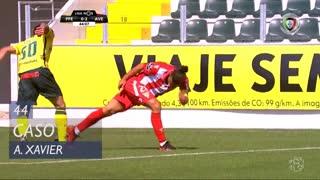 FC P.Ferreira, Caso, António Xavier aos 44'
