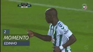 Vitória FC, Jogada, Edinho aos 2'
