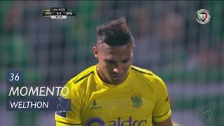 FC P.Ferreira, Jogada, Welthon aos 36'