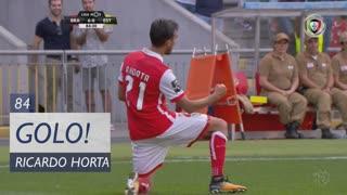 GOLO! SC Braga, Ricardo Horta aos 84', SC Braga 6-0 Estoril Praia
