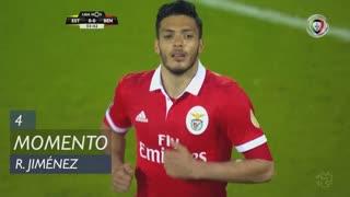 SL Benfica, Jogada, R. Jiménez aos 4'