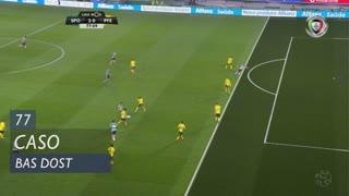 Sporting CP, Caso, Bas Dost aos 77'