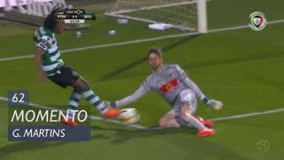Sporting CP, Jogada, Gelson Martins aos 62'
