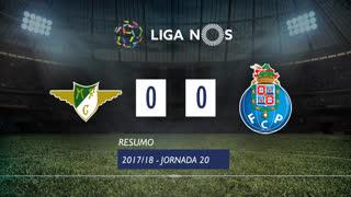Liga NOS (20ªJ): Resumo Moreirense FC 0-0 FC Porto