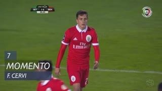 SL Benfica, Jogada, F. Cervi aos 7'