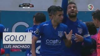 GOLO! CD Feirense, Luís Machado aos 61', CD Feirense 1-1 SC Braga