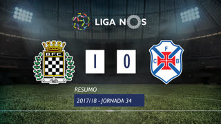 Liga NOS (34ªJ): Resumo Boavista FC 1-0 Os Belenenses