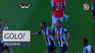 GOLO! Portimonense, Paulinho aos 25', SC Braga 0-1 Portimonense
