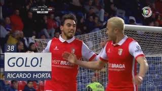 GOLO! SC Braga, Ricardo Horta aos 38', GD Chaves 0-2 SC Braga