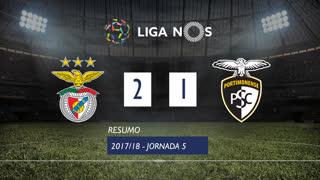 Liga NOS (5ªJ): Resumo SL Benfica 2-1 Portimonense