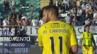 CD Tondela, Jogada, Miguel Cardoso aos 47'