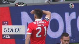 GOLO! SL Benfica, Pizzi aos 12', SL Benfica 1-0 CD Tondela