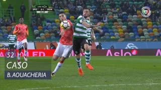 Moreirense FC, Caso, B. Aouacheria aos 52'