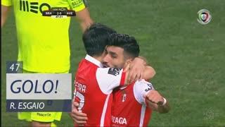 GOLO! SC Braga, Ricardo Esgaio aos 47', SC Braga 2-0 CD Aves